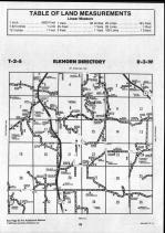 Brown County Map 013, Schuyler and Brown Counties 1990