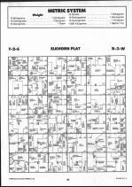 Brown County Map 014, Schuyler and Brown Counties 1990