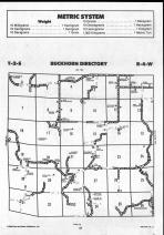 Brown County Map 019, Schuyler and Brown Counties 1990