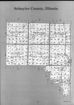 Schuyler County Index Map 1, Schuyler and Brown Counties 1990
