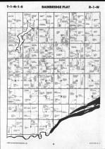 Schuyler County Map 001, Schuyler and Brown Counties 1990