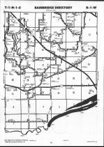 Schuyler County Map 002, Schuyler and Brown Counties 1990