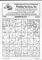 Schuyler County Map 003, Schuyler and Brown Counties 1990