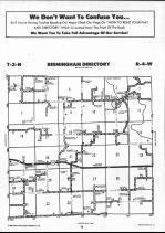 Schuyler County Map 004, Schuyler and Brown Counties 1990