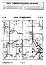 Schuyler County Map 010, Schuyler and Brown Counties 1990