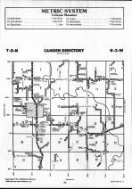 Schuyler County Map 012, Schuyler and Brown Counties 1990