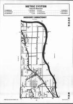 Schuyler County Map 016, Schuyler and Brown Counties 1990