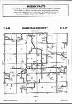 Schuyler County Map 018, Schuyler and Brown Counties 1990