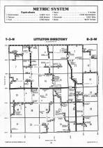 Schuyler County Map 020, Schuyler and Brown Counties 1990