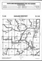 Schuyler County Map 022, Schuyler and Brown Counties 1990