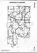 Schuyler County Map 026, Schuyler and Brown Counties 1990
