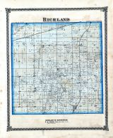 Richland, Shelby County 1875