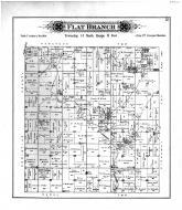 Flat Branch Township, Pleaks Corners, Shelby County 1895