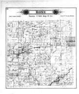 Rose Township, Shelbyville, Robinson Creek Sta & PO, Shelby County 1895