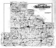 Shelby County Outline Map, Shelby County 1895