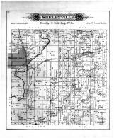 Shelbyville Township, Middlesworth Sta & PO, Shelby County 1895