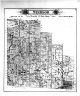 Windsor Township, Quigley PO, Shelby County 1895