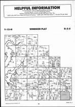 Windsor T12N-R5E, Shelby County 1990 Published by Farm and Home Publishers, LTD