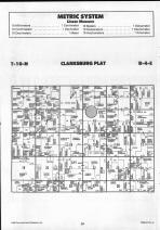 Clarksburg T10N-R4E, Shelby County 1990 Published by Farm and Home Publishers, LTD