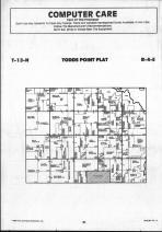 Todds Point T13N-R4E, Shelby County 1990 Published by Farm and Home Publishers, LTD