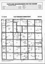 Flat Branch T13N-R2E, Shelby County 1990 Published by Farm and Home Publishers, LTD