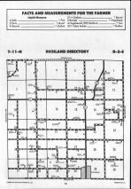 Richland T11N-R5E, Shelby County 1990 Published by Farm and Home Publishers, LTD