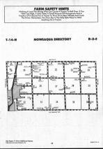 Moweaqua T14N-R2E, Shelby County 1990 Published by Farm and Home Publishers, LTD