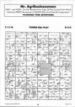 Tower Hill T11N-R2E, Shelby County 1993 Published by Farm and Home Publishers, LTD