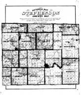 Stephenson Sectional County Map, Stephenson County 1871