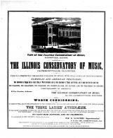Illinois Conservatory of Music, Tazewell County 1873