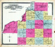 Outline Map, Tazewell County 1910
