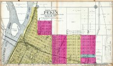 Pekin - North, Tazewell County 1910