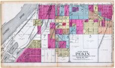 Pekin - South, Tazewell County 1910