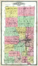 County Outline Map, Vermilion County 1915