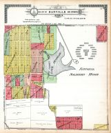 Danville City and Environs - Section 10, Vermilion County 1915