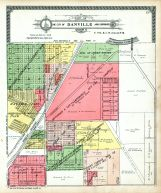 Danville City and Environs - Section 17, Vermilion County 1915