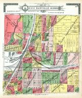 Danville City and Environs - Section 4, Vermilion County 1915