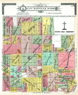 Danville City and Environs - Section 5, Vermilion County 1915