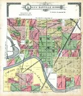 Danville City and Environs - Section 8, Vermilion County 1915