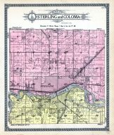 Sterling and Coloma Townships, Whiteside County 1912