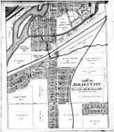 Joliet City - Section 21 & N Section 28, Will County 1893