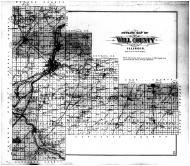 Will County Outline Map, Will County 1893
