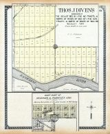 Diamond - East, Thos. J. Diven's Subdivision, Will County 1909 to 1910