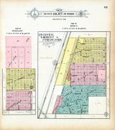 Joliet City - Sections 18 19 and 34, Riverview, Fairmont and Stirling Park, Will County 1909 to 1910