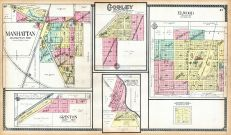 Manhattan, Grinton, Godley, Ritchey, Elwood, Will County 1909 to 1910