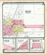 Monee, Spencer, Marley, Goodenow, Will County 1909 to 1910