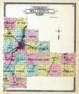 Outline County Map, Will County 1909 to 1910