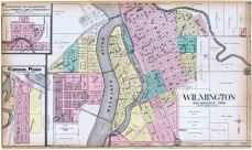 Wilmington, Wilmington - North, Custer Park, Will County 1909 to 1910