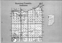 Newton County Index Map 001, Benton and Newton Counties 1991