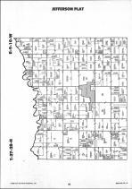 Newton County Map Image 010, Benton and Newton Counties 1991